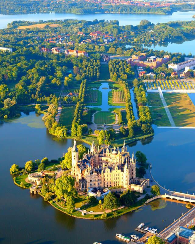 جاهای دیدنی آلمان- قلعه شورین آلمان