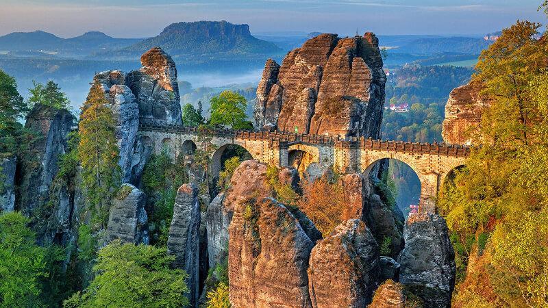 جاهای دیدنی آلمان- پل باستای آلمان
