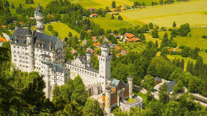مکان های دیدنی آلمان- قلعه نوی شوانشتاین آلمان