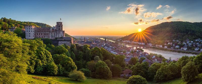 مکان های دیدنی آلمان- شهر هایدلبرگ