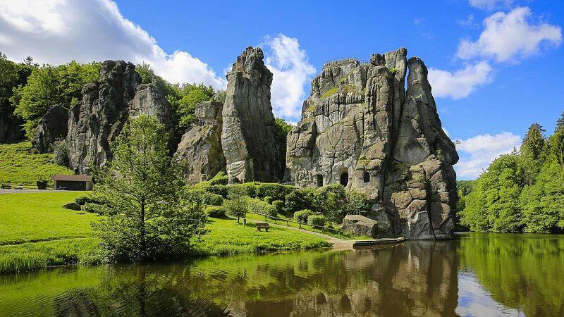 مکان های دیدنی آلمان- اکسترین شتاین آلمان